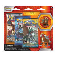 Pokemon Trading Card Game: Legendary Beasts Collector's Pin 3-Pack Blister - Entei