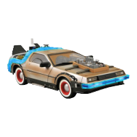 BTTF Time Machine Mark III Car
