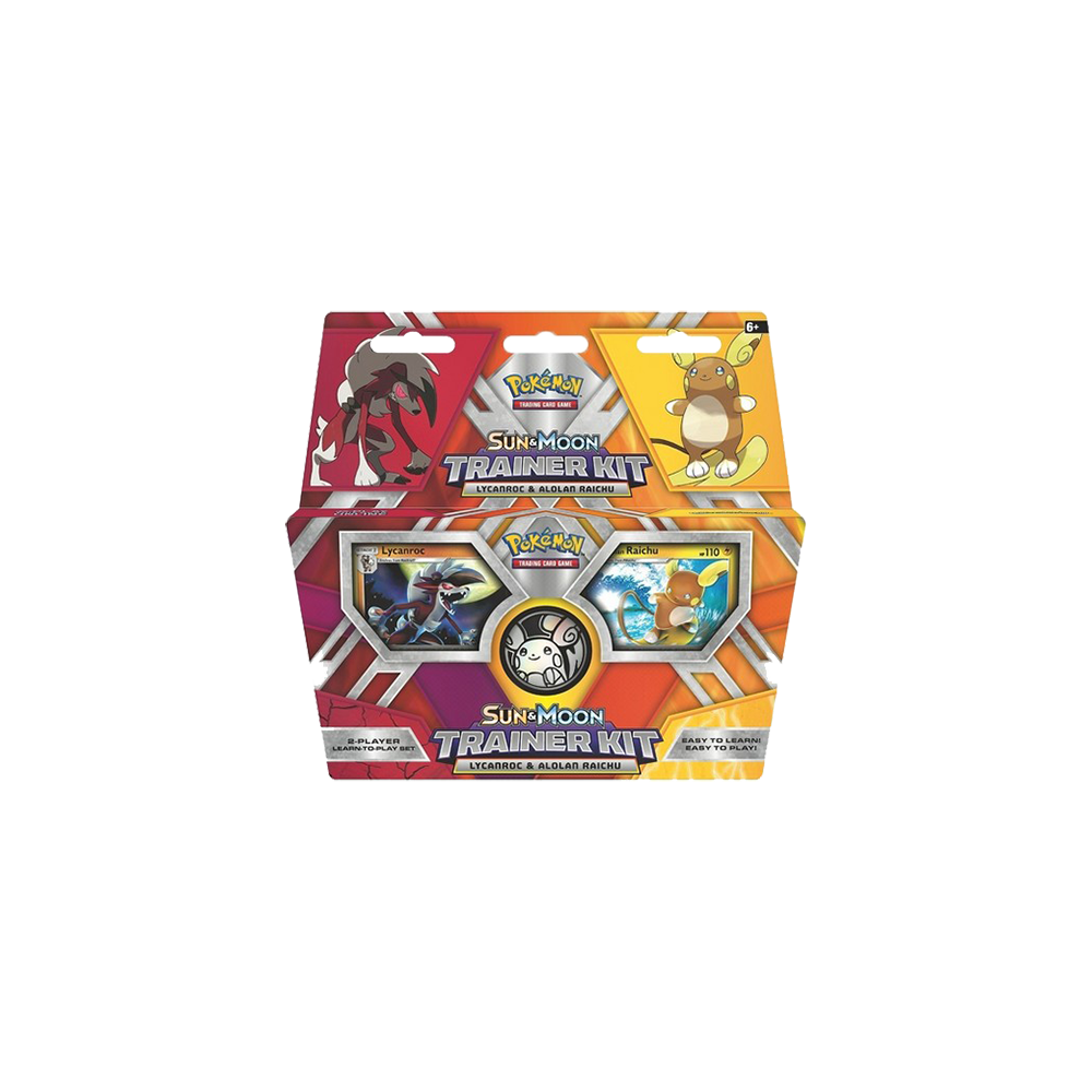 Pokemon Trading Card Game: Sun & Moon Trainer Kit - Lycanroc & Alolan Raichu