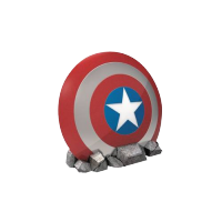 Marvel Comics: Scut Captain America cu boxe