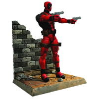 Marvel Select: Statuetă Deadpool