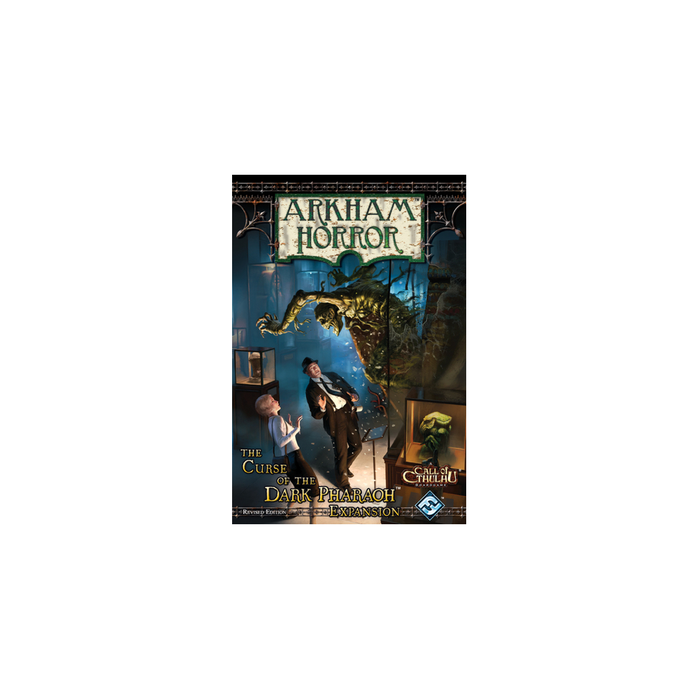 Arkham Horror: Curse of the Dark Pharaoh Expansion (varianta revizuită)