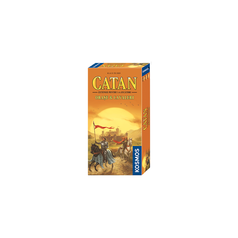 Catan: Cities & Knights – Extensia 5-6 jucători