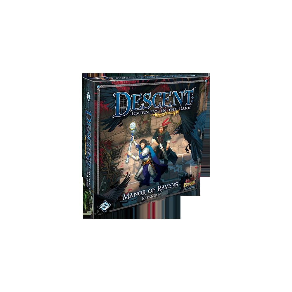 Descent: Journeys in the Dark (ediţia a doua) – Manor of Ravens