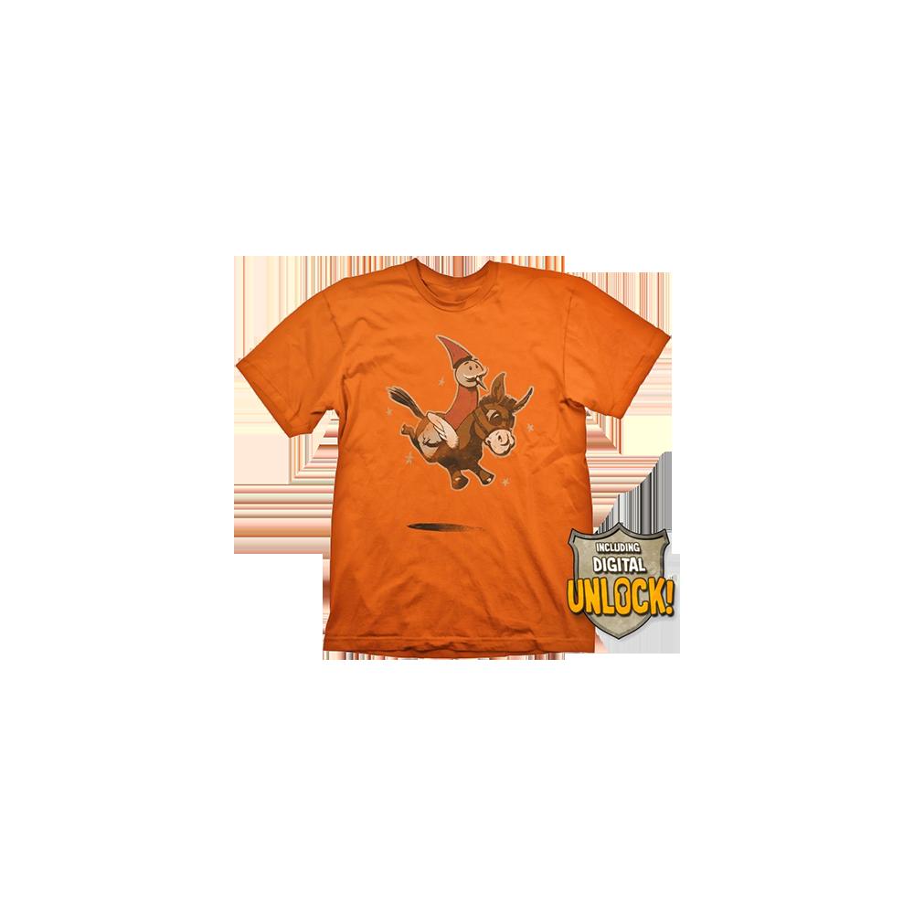 Tricou DOTA 2 Wizard & Donkey