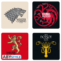 Set suport pahare: Game of Thrones Houses