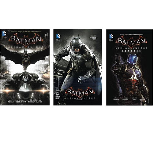 Set Batman: Arkham Knight HC Vol 01-03