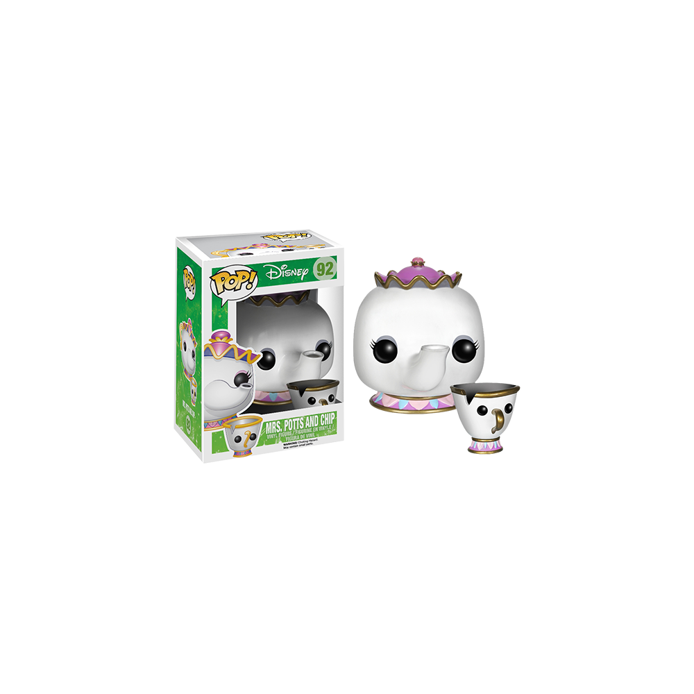 Funko Pop: Beauty and the Beast Live Action - Mrs. Potts & Chip
