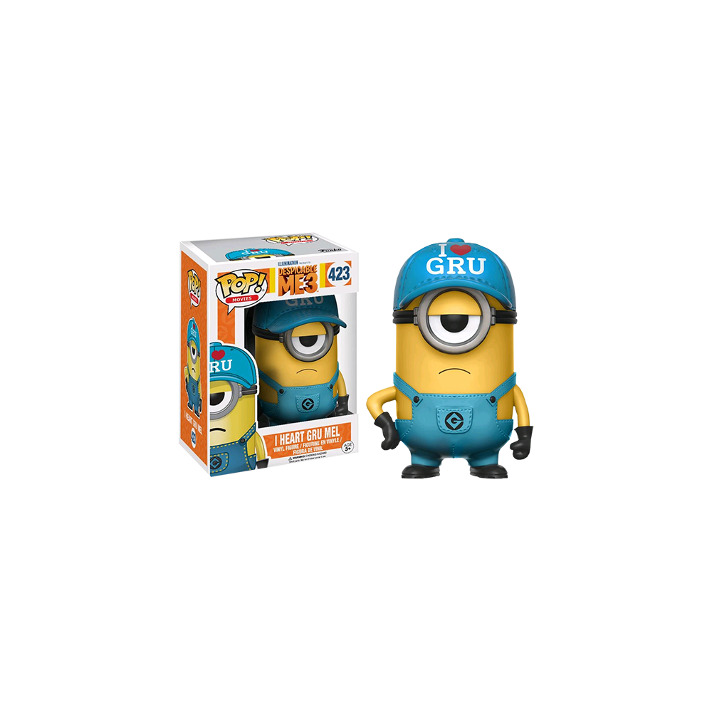 Funko Pop: Despicable Me 3 - I Heart Gru Mel
