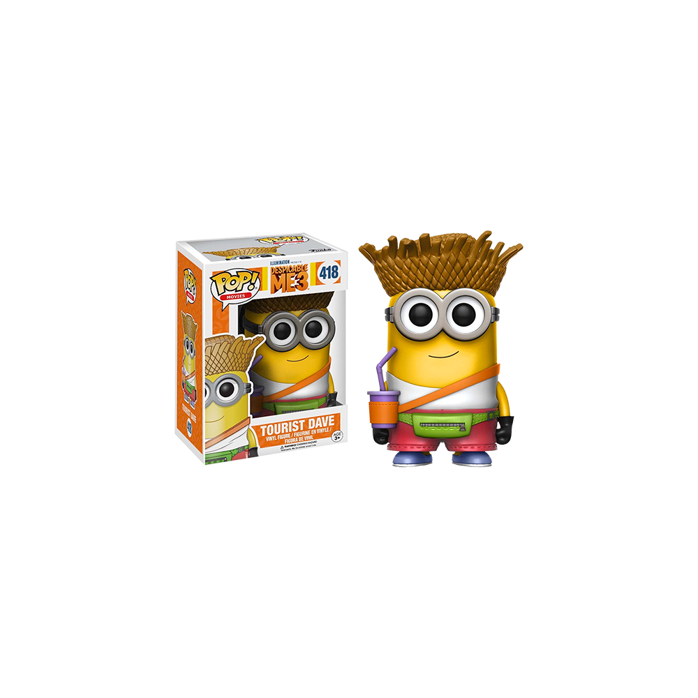 Funko Pop: Despicable Me 3 - Tourist Dave