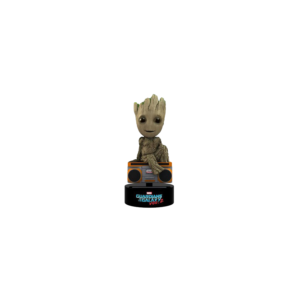 Figurină: Guardians of the Galaxy Vol.2 - Groot Solar Powered Body Knocker