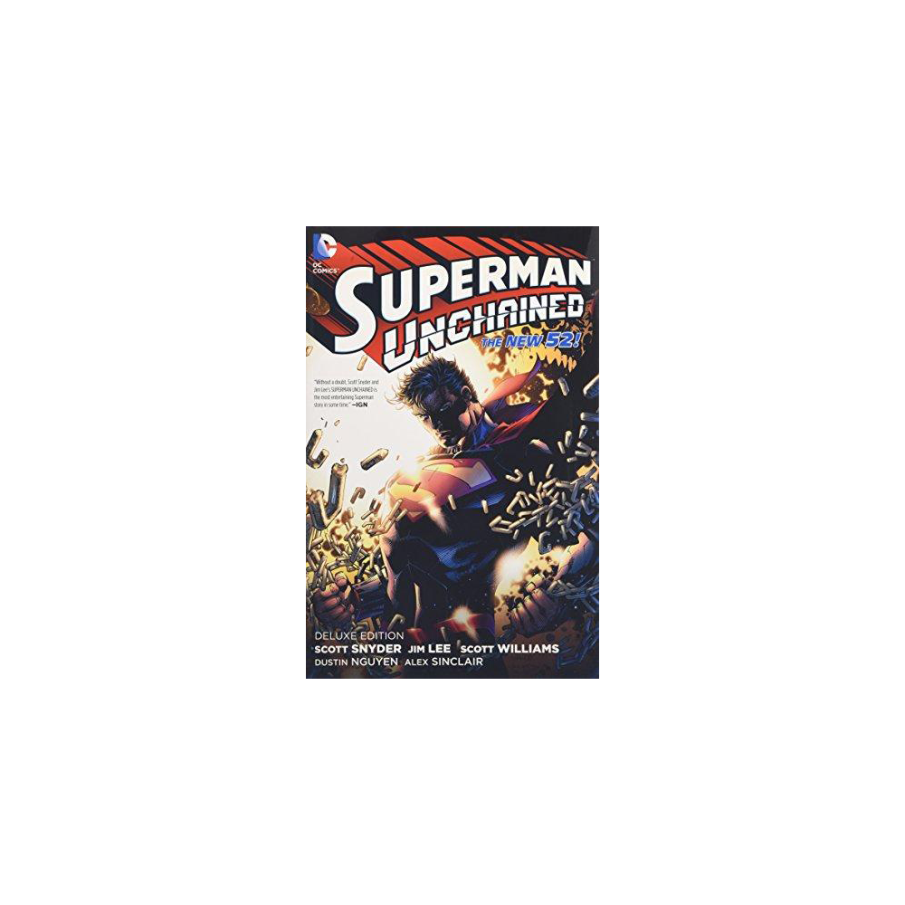 Superman Unchained Deluxe Ed HC