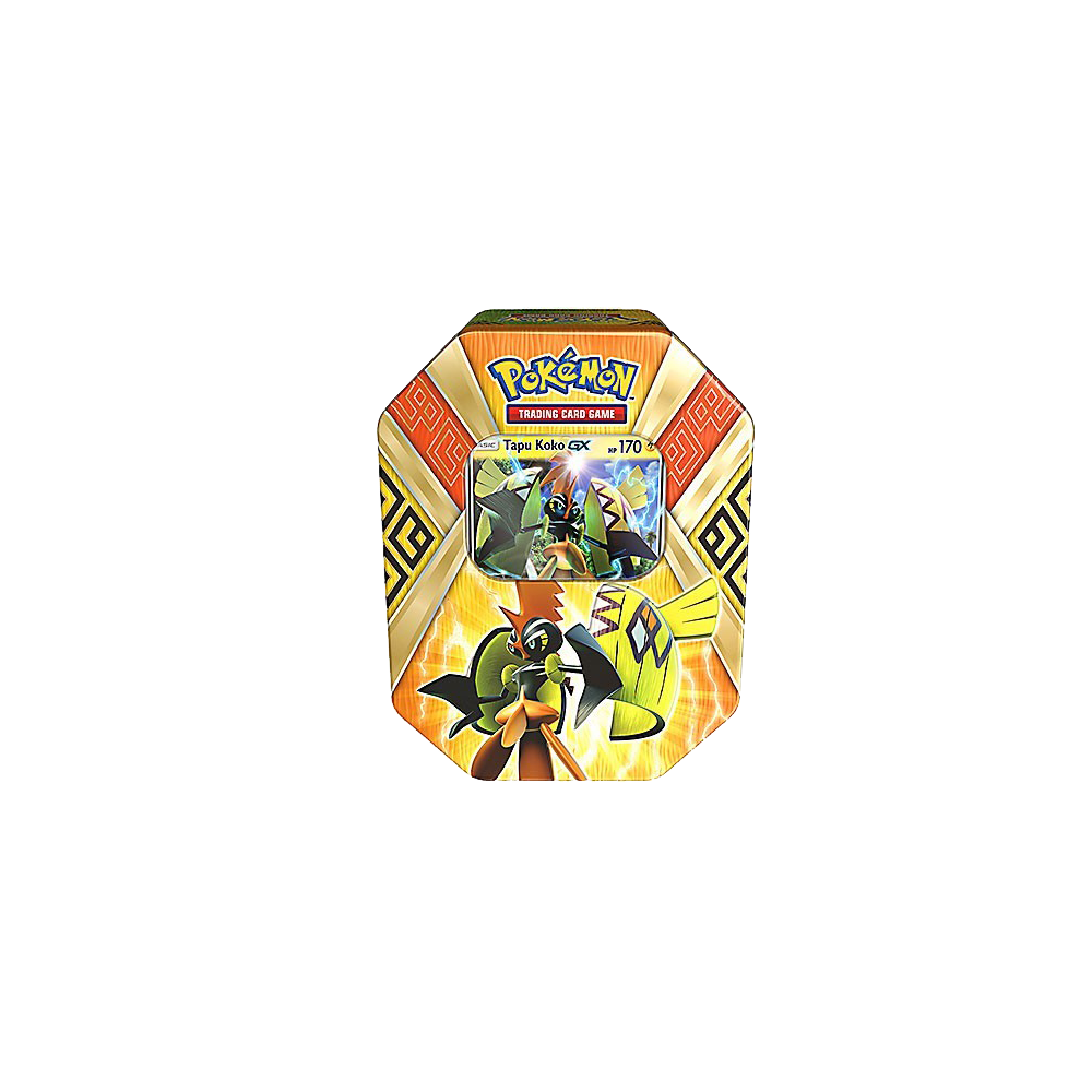 Pokemon Trading Card Game: Island Guardians Tins - Tapu Koko-GX