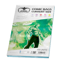 Ultimate Guard: Comic Bags - Current Size (resigilabile)