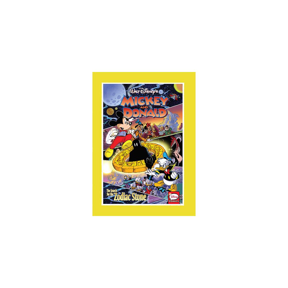 Mickey & Donald HC Search Forzodiac Stone