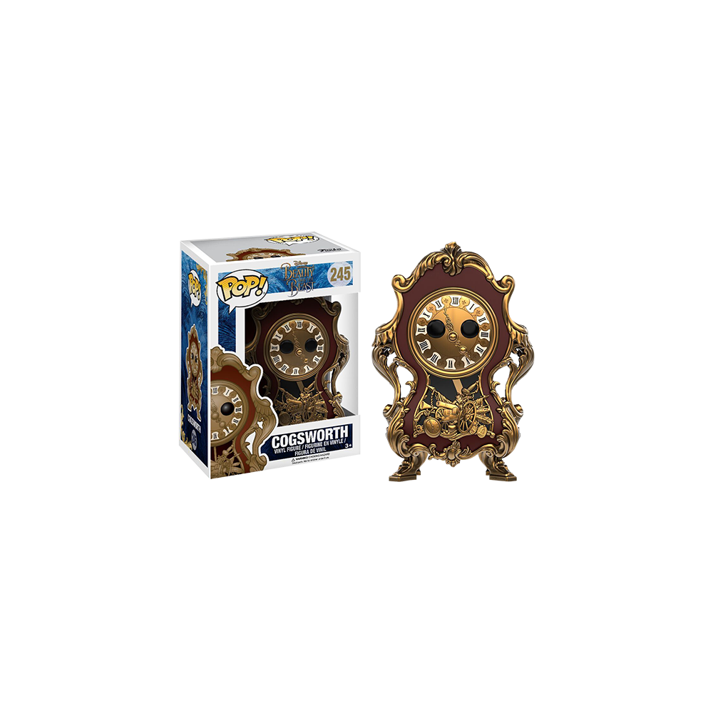 Funko Pop: Beauty and the Beast Live Action - Cogsworth
