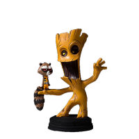 Figurină: Marvel Animated Style Groot & Rocket Raccoon