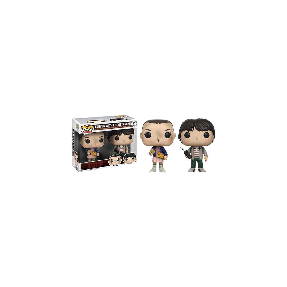 Funko Pop: Stranger Things - Eleven with Eggos/ Mike