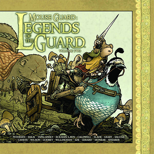 Mouse Guard Legends of the Guard HC Vol 02