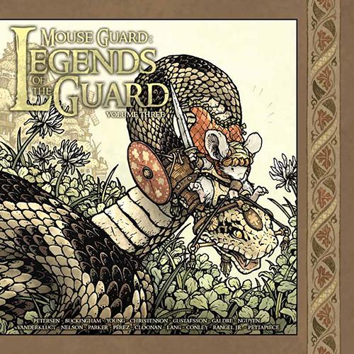 Mouse Guard Legends of the Guard HC Vol 03