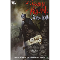 Batman Arkham Asylum Living Hell Deluxe Edition HC