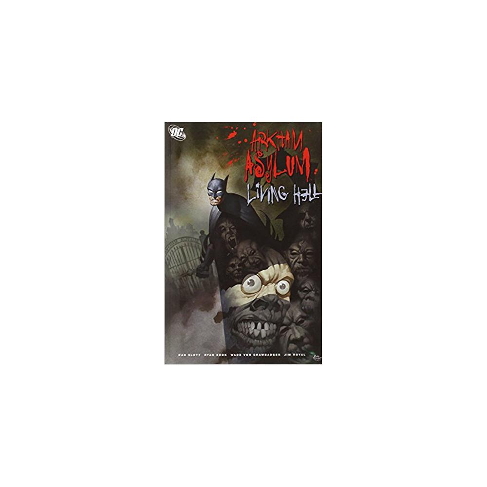 Batman Arkham Asylum Living Hell Deluxe Edition HC