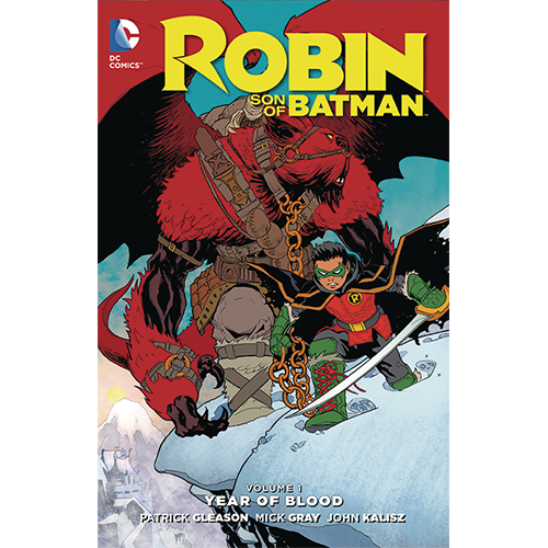 Robin Son of Batman HC Vol 01 Year of Blood