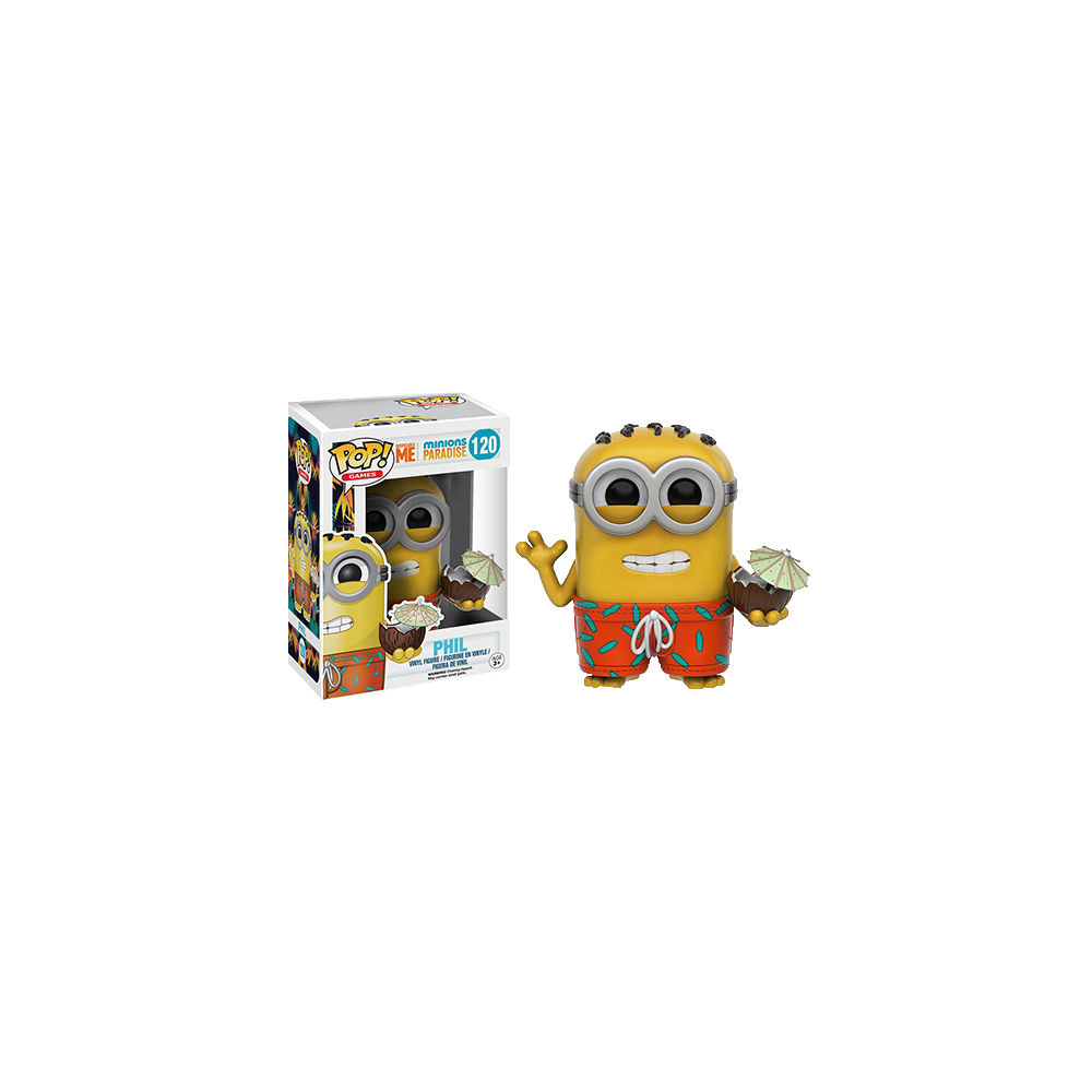 Funko Pop: Despicable Me Minions Paradise - Phil