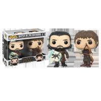 "Funko Pop: Game of Thrones - Jon Snow & Ramsey Bolton Battle Of Bastards"""
