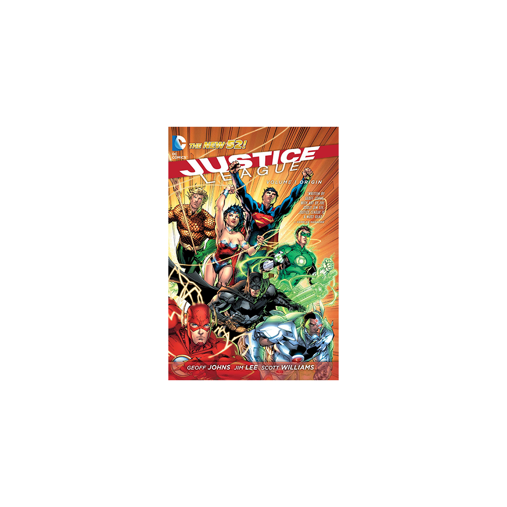 Justice League Volume 1 Origin TP