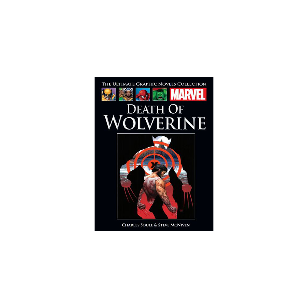 Marvel Graphic Novel Collection Vol 136 Death of Wolverine HC
