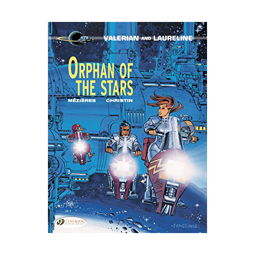 Valerian Graphic Volume Vol 17 Orphan of The Stars
