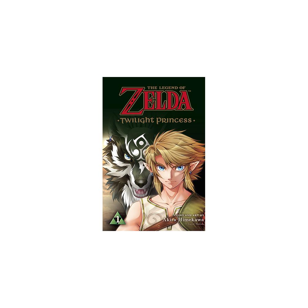 Legend of Zelda Twilight Princess Graphic Novel Vol 01