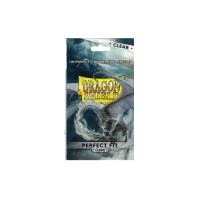 Dragon Shield: Standard Perfect Fit Sideloading Sleeves - Clear (100)