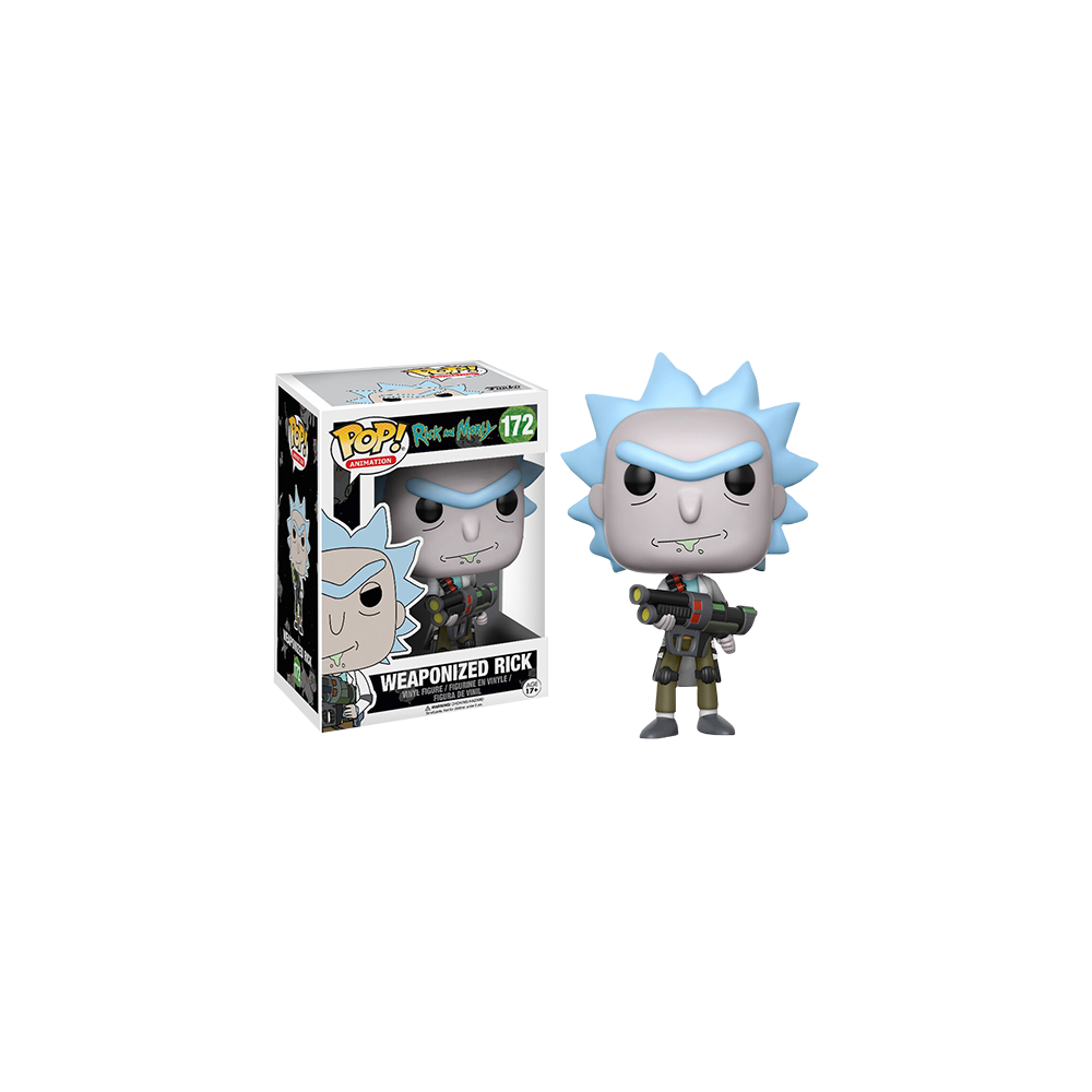 Funko Pop: Rick and Morty - Weaponized Rick