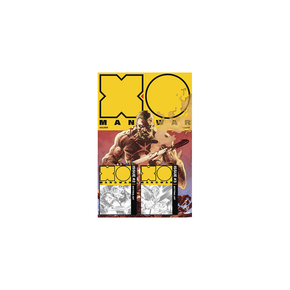 X-O Manowar (2017) vol. 1-3 Pre-Order Edition Bundle