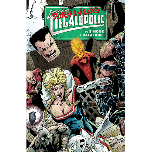 Leaving Megalopolis HC Vol 02 Surviving Megalopolis