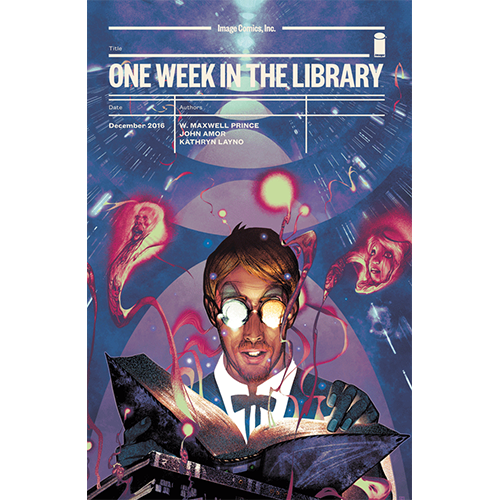 One Week in The Library Graphic Novel