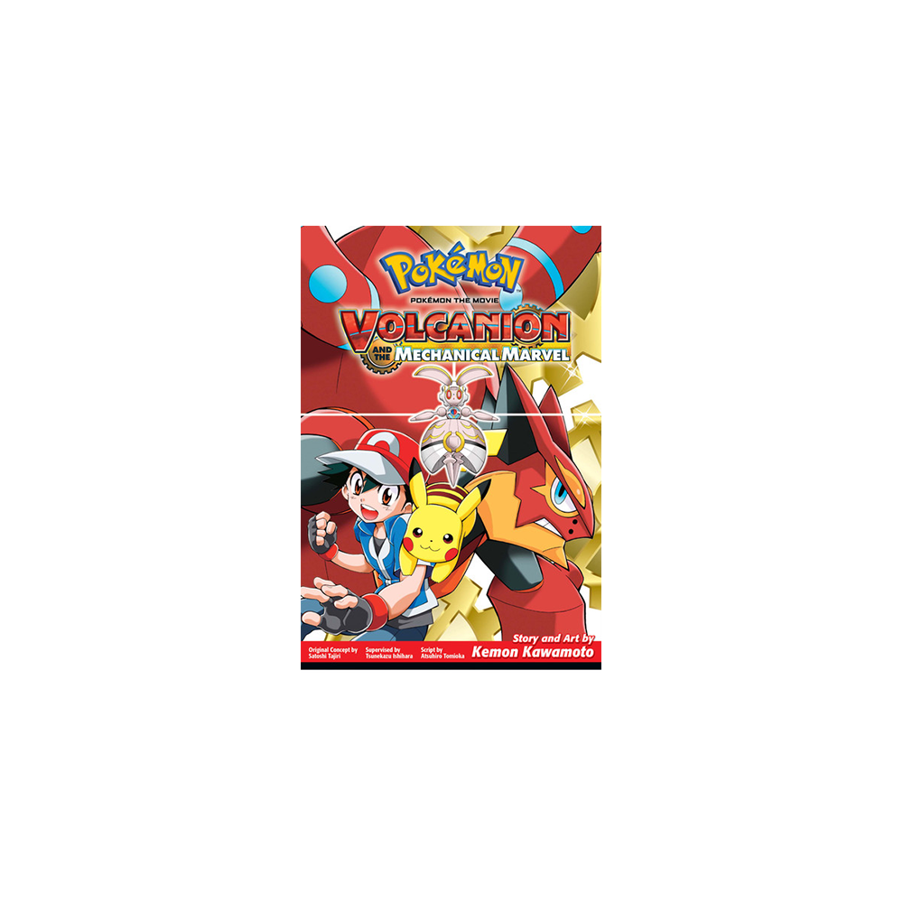 Pokemon Movie Volcanion Mechanical Marvel Graphic Novel