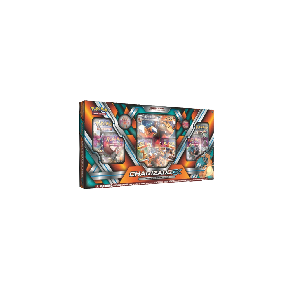 Pokemon Trading Card Game: Charizard-GX Premium Collection Box