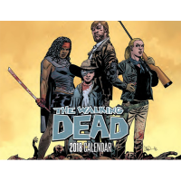 SDCC 2017 Walking Dead 2018 Calendar