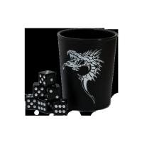 Cupă pentru zaruri cu emblmă dragon