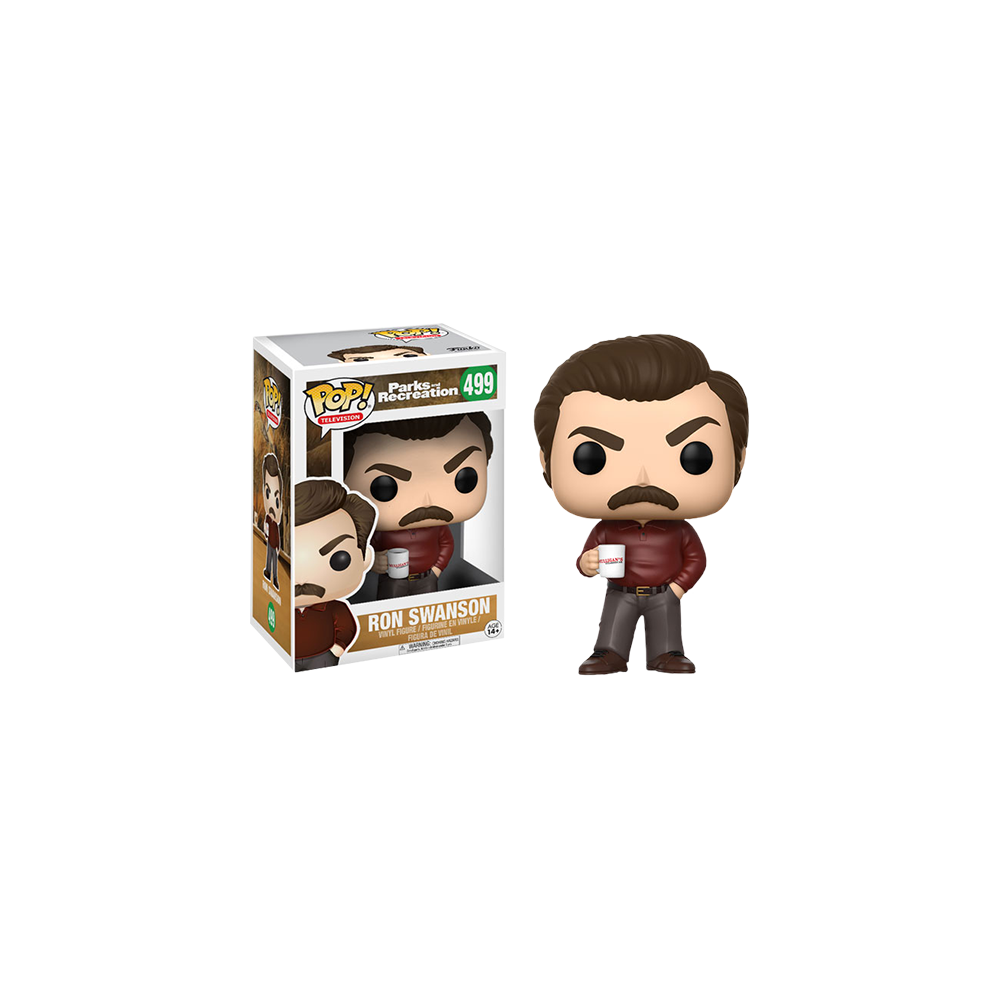 Funko Pop: Parks and Recreation - Ron Swanson