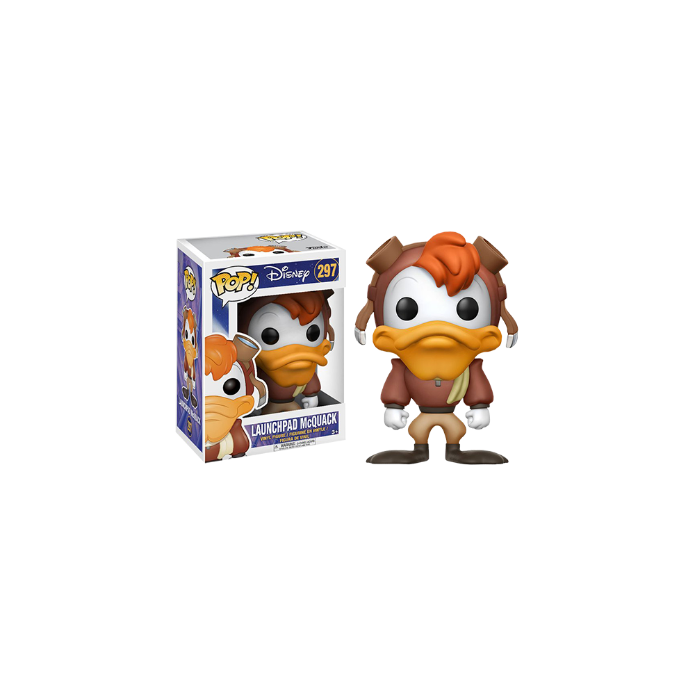 Funko Pop: Darkwing Duck - Launchpad McQuak