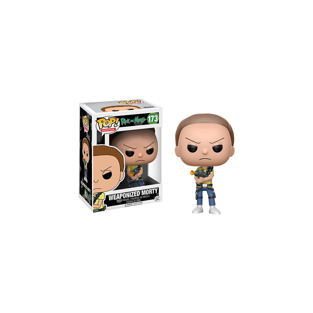 Funko Pop: Rick and Morty - Weaponized Morty