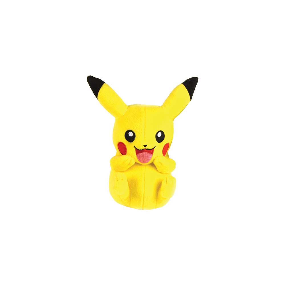Pokemon Plush Figure Pikachu (laughing)