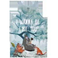 Top: The Jungle Book Sublimation I Wanna Be Like You