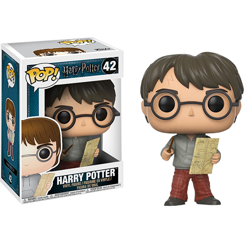 Funko Pop: Harry Potter - Harry with Marauders Map