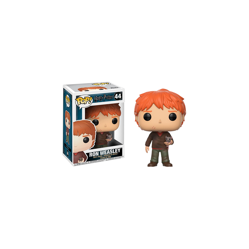 Funko Pop: Harry Potter - Ron with Scabbers