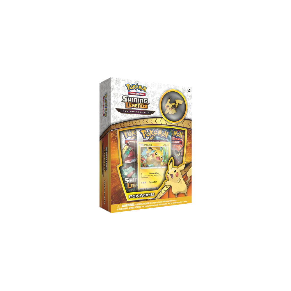 Pokemon Trading Card Game: Shining Legends Pin Collection- Pikachu